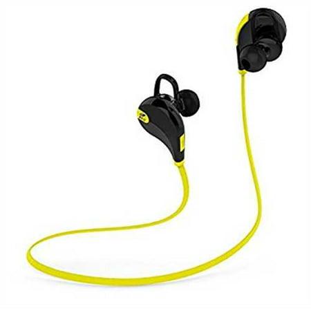 SoundPEATS Bluetooth Earbuds Sport Wireless In Ear Stereo Headphones with  Mic (Secure Ear Hooks Design, Bluetooth 4 1, 6 Hours T