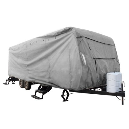 Leader Accessories Travel Trailer Rv Cover Fits Camper 3 Layer Polypropylene Outdoor Protect