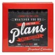 Christian Art Gifts 362291 Calendar-Your Plans Will Succeed - Perpetual