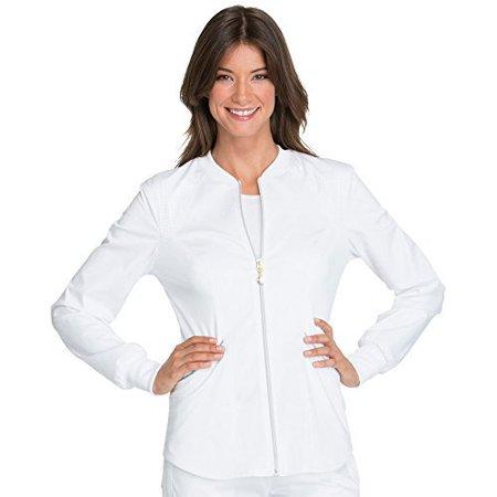 fe5459b4984 Cherokee - Cherokee Women's Luxe Sport Zip Front Warm-Up Jacket ...
