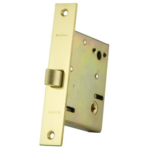 "Baldwin 6001.R Right Handed Entrance Mortise Lock 2-3//4/"" Back Oil Rubbed Bronze"