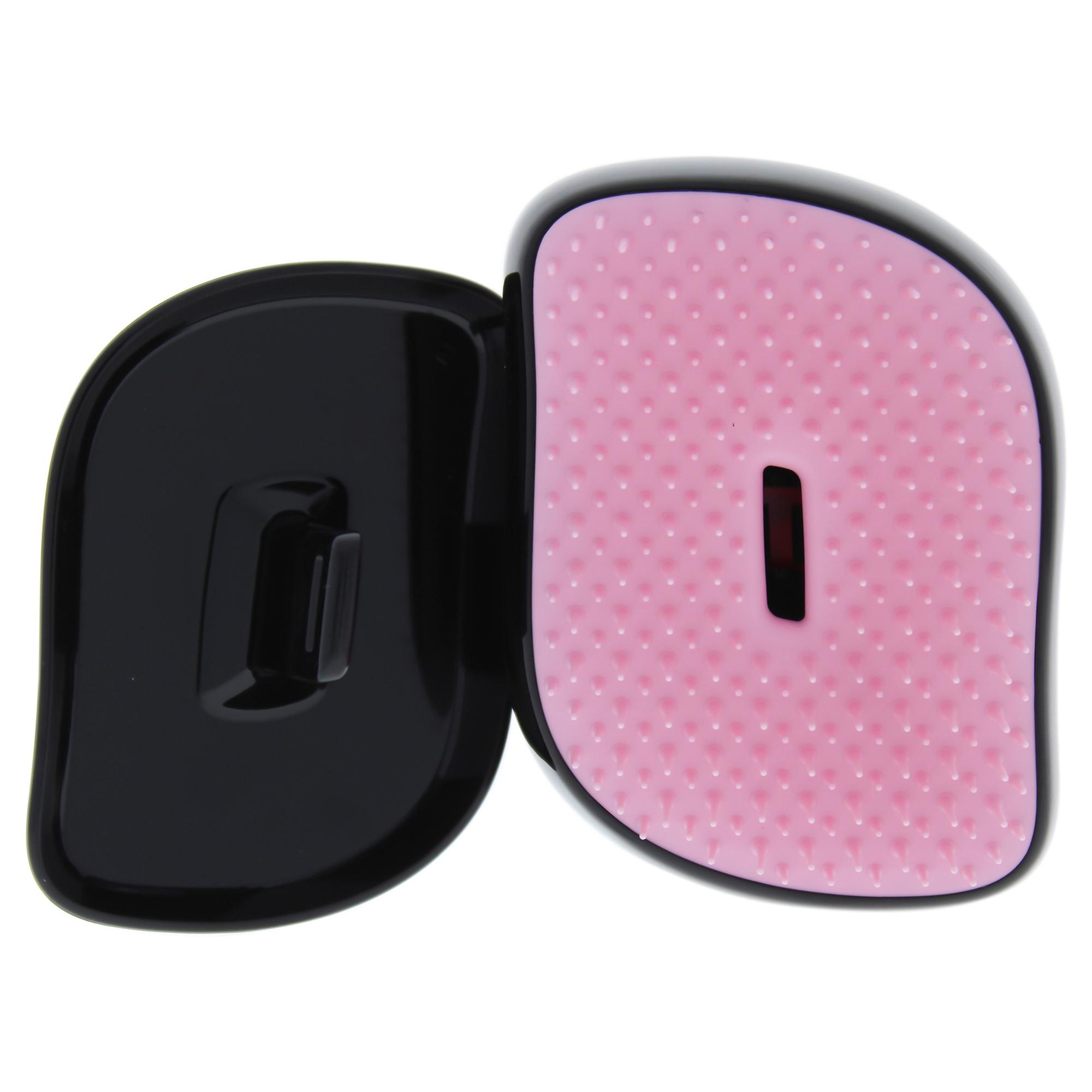 Compact Styler Detangling Hairbrush - Pink Leopard by Tangle Teezer for Women - 1 Pc Hair Brush