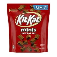 Kit Kat Minis, Milk Chocolate Wafer Bars Candy, 14 Oz.
