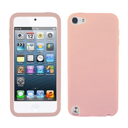 Insten Solid Skin Case (Pink) for iPod touch (5 5G 5th 6 6G 6th Gen)