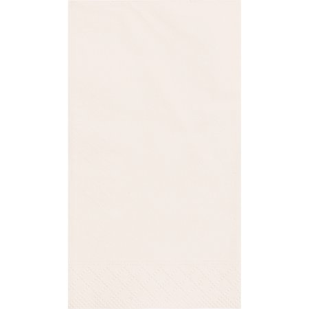 Paper Guest Napkins, 7.75 x 4.5 in, Ivory, 20ct - Guest Towels 100 Napkins