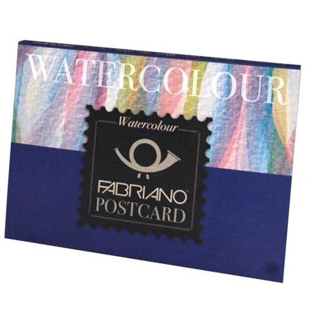 Fabriano Studio Watercolor Pad, Cold-Press, 9in x 12in, 90 lb , 20 Sheets