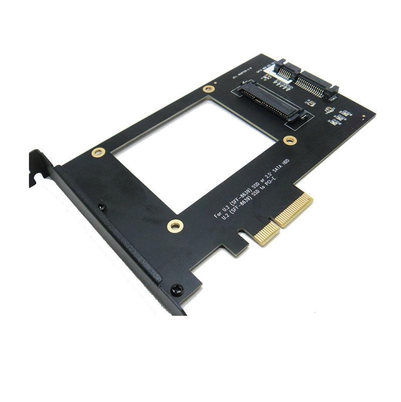 U.2 SFF-8639 NVMe SSD to PCI-e 4X Adapter