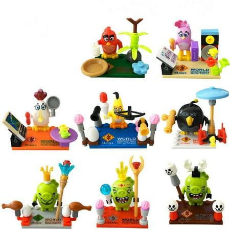 OliaDesign Angry Birds minifigure LEGO Compatible Minifigures Minifig](Angry Birds Halloween 2017 2-5)