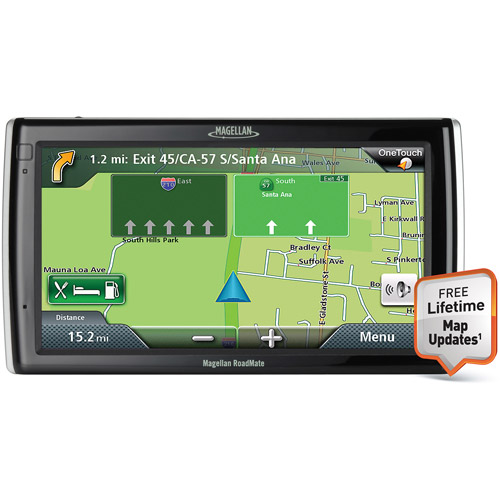 """MAGELLAN RM1700SGLUC RoadMate(R) 1700 7"""" GPS Device with Free Lifetime Map Updates"""