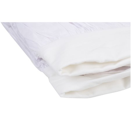 (TL Care® 100% Cotton Percale Crib Skirt)