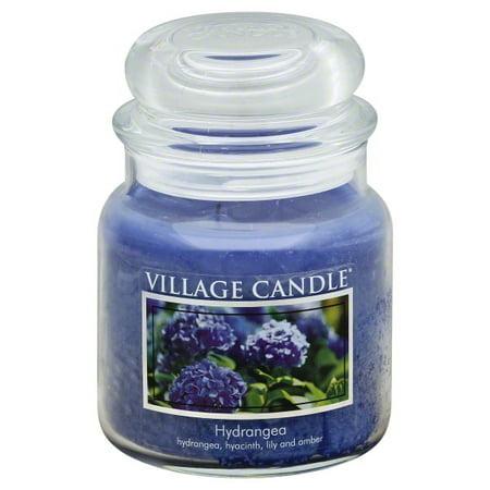 Village Candle 106016309 Hydrangea 16 oz Jar