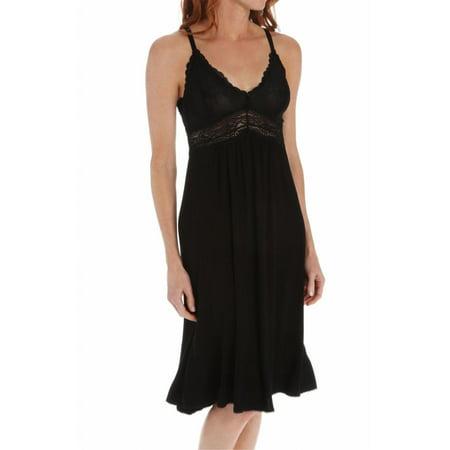 Women's Mystique Intimates 21905 Bliss Knit Waltz Length Gown