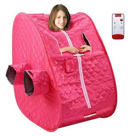 850W Portable Steam Sauna Spa Therapeutic Slim Weight Loss Indoor Health Care 2L