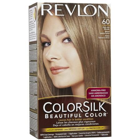 Revlon Colorsilk Beautiful Color 60 Dark Ash Blonde Hair