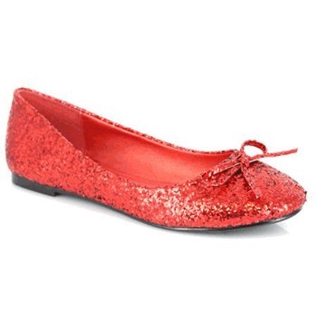 0b4dcece88 ELLIE SHOES - 016- MILA-G, Women's Glitter Flats With Bow - Walmart.com