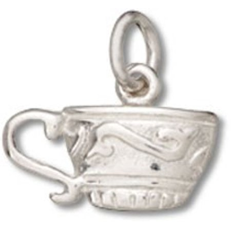 Teacup Pendant (Sterling Silver 16