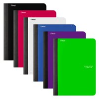 "Five Star Composition Book with Pocket, 100 Sheets, 9 3/4"" x 7 1/2"", Assorted Colors, 6 Pack (38019)"