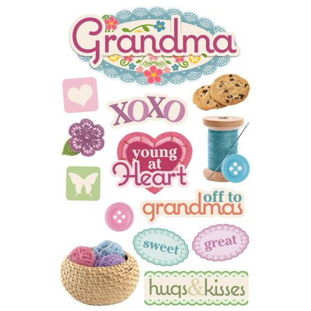 Paper House Productions Grandma - 3D Sticker