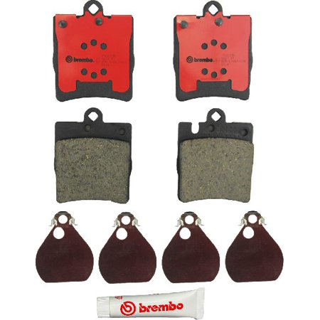 C32 Amg Rear Brake (Go-Parts OE Replacement for 2002-2004 Mercedes-Benz C32 AMG Rear Disc Brake Pad Set for Mercedes-Benz C32)