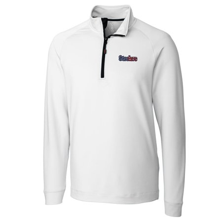 quite nice 25458 33171 Pittsburgh Steelers Cutter & Buck Americana Jackson Knit Quarter-Zip  Pullover Jacket - White