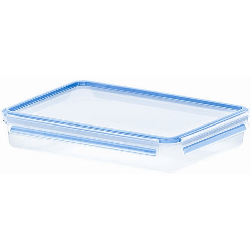 Frieling Emsa by Frieling 88 Oz. 3D Food Storage Shallow Rectangular Clip and Close Container