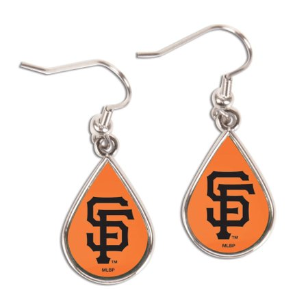 San Francisco Giants WinCraft Tear Drop Dangle Earrings - No - Giants Earrings