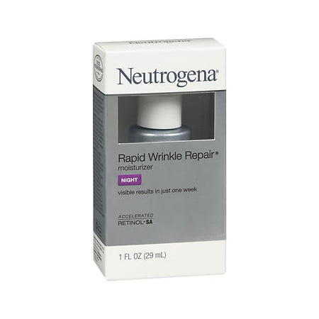 Neutrogena Rapid Wrinkle Repair Moisturizer Night - 1 (Best Wrinkle Treatment For Men)