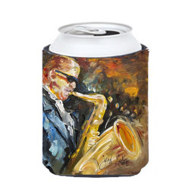 Carolines Treasures JMK1277CC Jazz Sazophone Can & Bottle Hugger - image 1 de 1