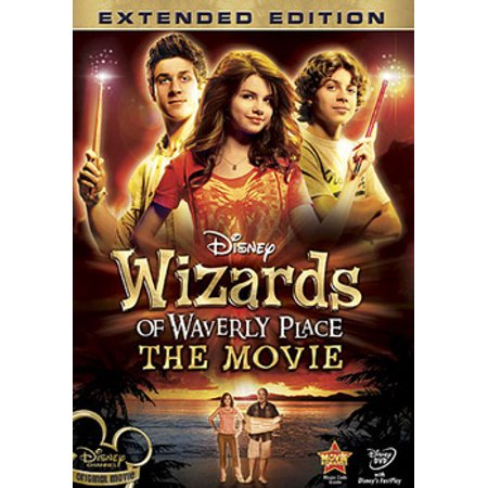 Wizards of Waverly Place: The Movie (DVD) - A List Of Disney Channel Halloween Movies