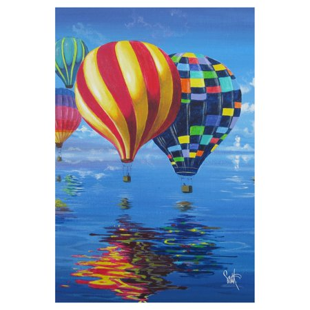 toland home garden flight of the balloons flag toland home garden flight of the balloons flag