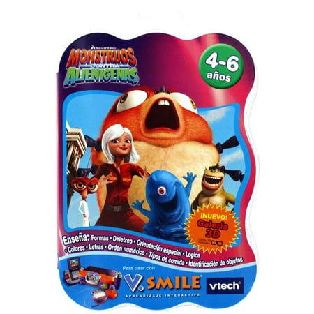 V Smile Game Monsters vs Aliens - Spanish - Bob Monsters Vs Aliens