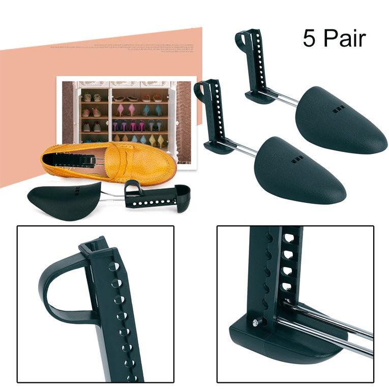 Blackish Green 5 Pair Form Shoe Tree Shoes Shaper Boot Women Man Shoe Stretcher Expander Shoe Support by