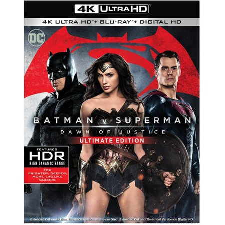 Batman v Superman: Dawn Of Justice (Ultimate Edition) (4K Ultra HD + Blu-ray + Digital HD)](Batman In Young Justice)