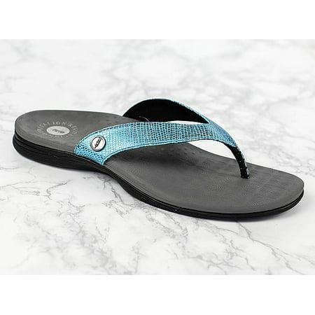 Black Womens 6 Biomechanical Chameleon Sandals Sandal Revitalign qjMVGSULzp