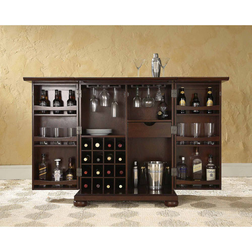 Crosley Furniture Alexandra Expandable Bar Cabinet