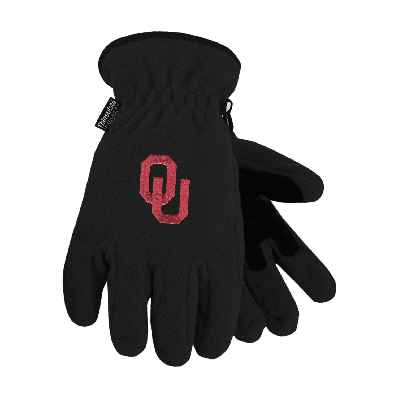 University of Oklahoma Heavy-Weight Fleece Gloves by