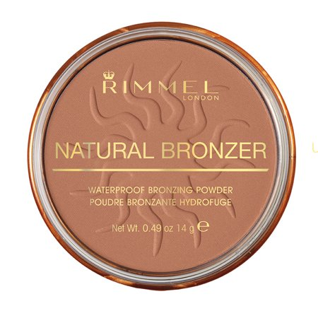 Rimmel Natural Bronzer, Sun - Triple Action Bronzer