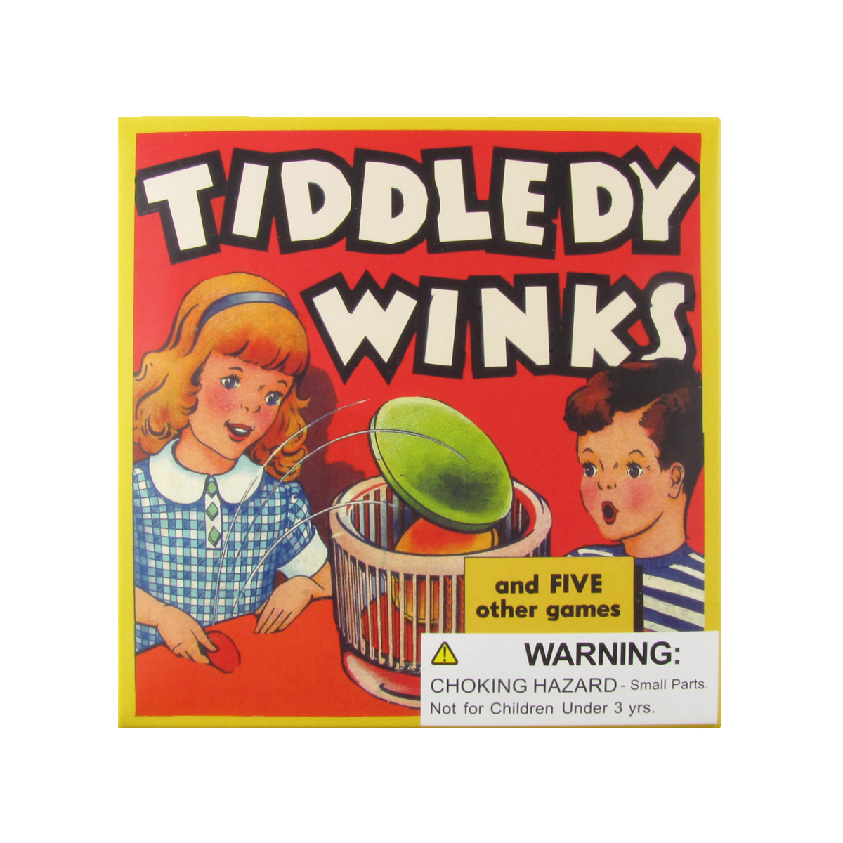 Retro Packaging Classic Board Game of Tiddllywinks Kids/Adults Fun Family Games