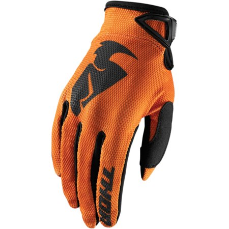 Thor Sector Youth MX Offroad Gloves Orange