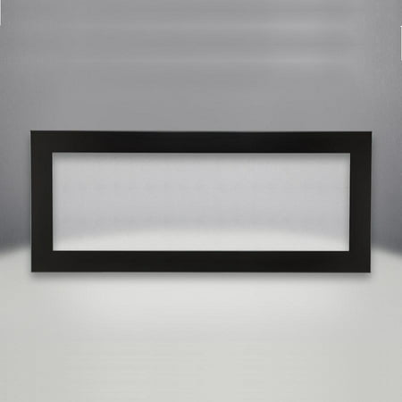 Napoleon Deluxe Gloss Black Surround With Safety Barrier For Linear 45-Inch Direct Vent Gas Fireplaces