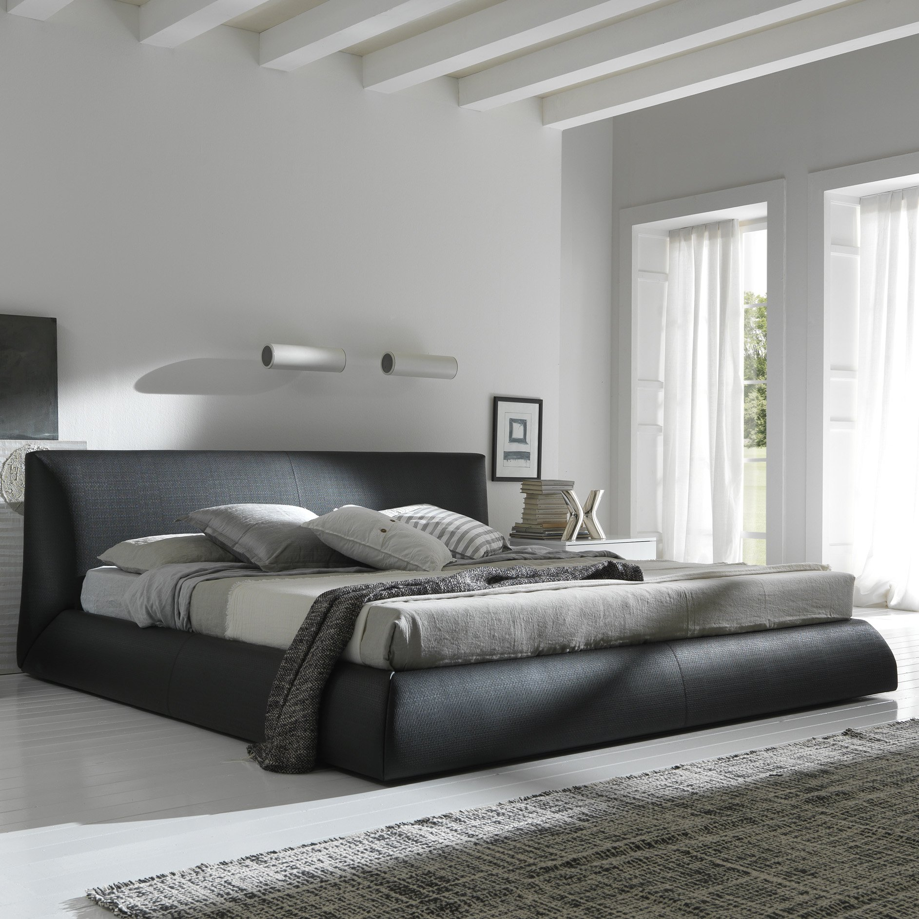 Rossetto Coco Platform Bed Brown by Rossetto USA