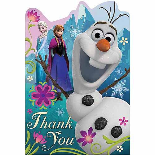 Disney Frozen Thank You Notes