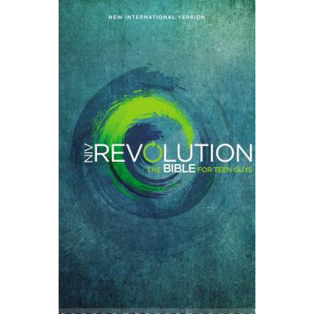 NIV, Revolution Bible, Hardcover : The Bible for Teen (Best Bible For Teens)