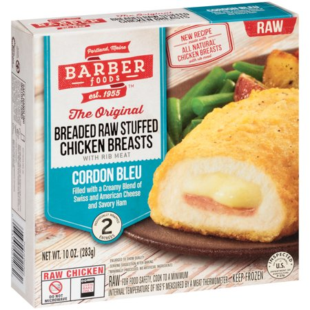 Barber Foods The Original Breaded Raw Stuffed Chicken Breasts ...