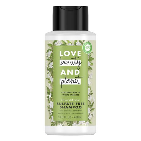 - Love Beauty And Planet Divine Definition Shampoo Coconut Milk & White Jasmine 13.5 oz