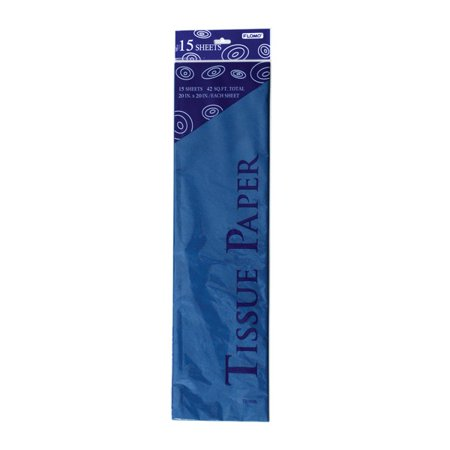 Long Parade Blue Tissue Paper - Navy Blue Tissue Paper