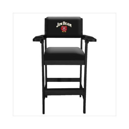 Jim Beam Spectator Chair With Black Finish Walmart Com