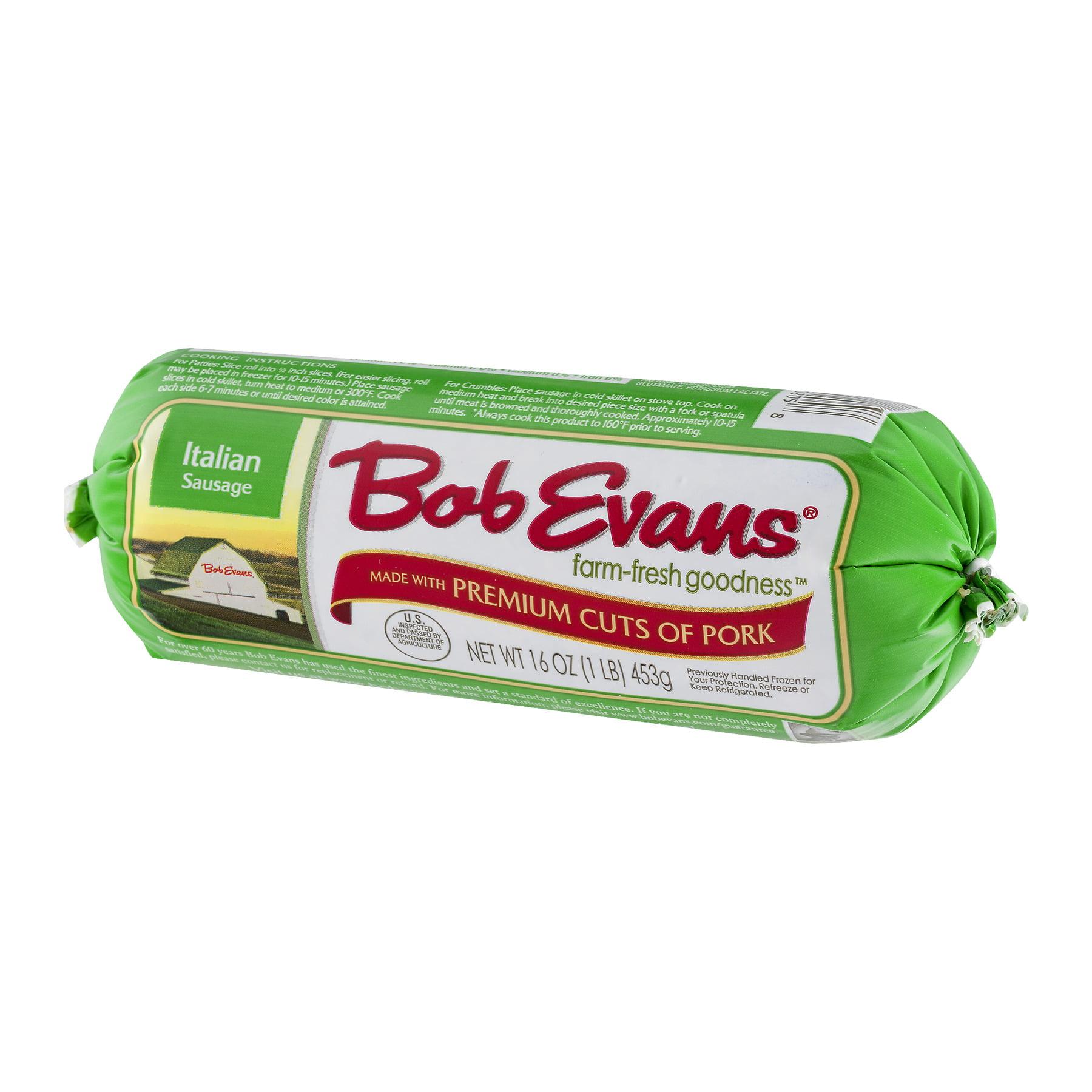 Bob Evans® Italian Sausage 16 oz. Chub - Walmart.com