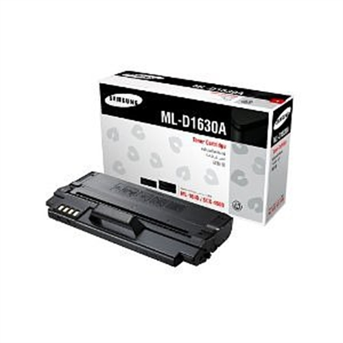 Samsung 2000 Page Yield Black Toner cartridge for ML-1630 SCX-4500 Printers ML-D1630A