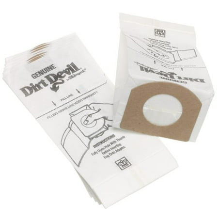 Dirt Devil Type G Vacuum Bags - Genuine - 10 pack - Part #